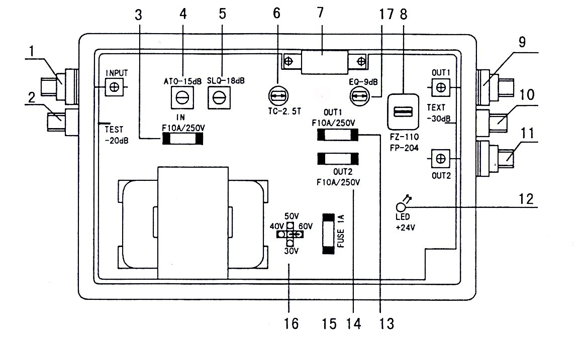 sp8860 干线信号放大器